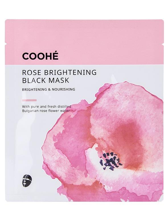 Ansigtsmasker af forskellige mærker og versioner - flydende og som maske-servietter