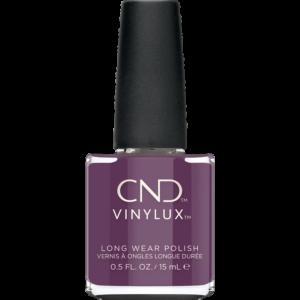 CND Vinylux har nu en ny lækker mørk lilla farve fra efterårskollectionen Wild Romantics. Verbena Velvet er dyd smuk lilla