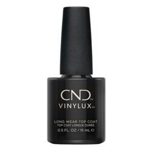 CND Topcoat giver hight shine og lang holdbarhed til din lakering.