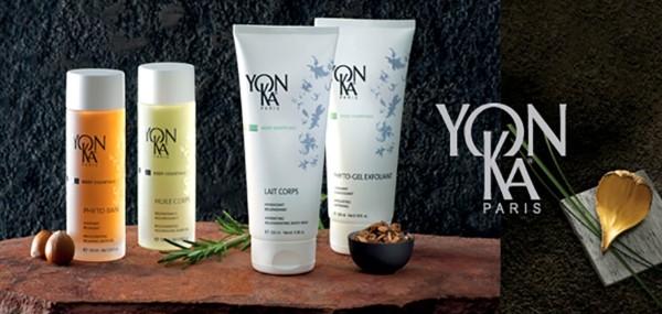 hele YonKa Paris hudplejeserie - spa stemning for hele kroppen