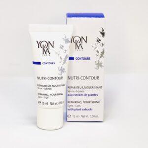 Yonka Nutri-Contour øjencreme til både øjne og læber med nærende, reparerende og nærende egenskaber