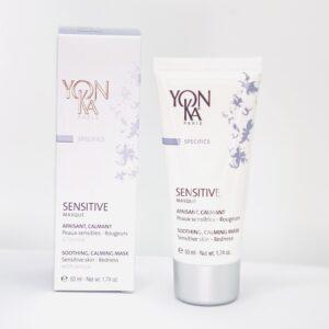 Yonka sensitive masque er sos creme masken til huden der er sensibel, reaktiv, og dig med hudproblemer som fx rosacea.
