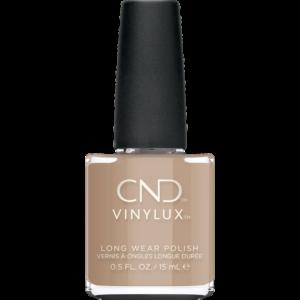 CND vvinylux neglelak fra efterårskollektionen wild romantics, i denne smukke varme nude nuance, wrapped in linen